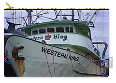 Carry-all Pouch featuring the photograph Western King At Discovery Harbour by Randy Hall