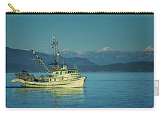 Carry-all Pouch featuring the photograph Western King At French Creek by Randy Hall