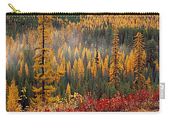 Western Larch Forest Autumn Carry-all Pouch