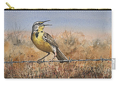 Western Meadowlark Carry-all Pouch