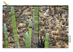 Western Mexican Cactus Tree Carry-all Pouch
