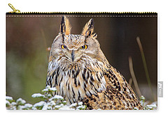Western Siberian Owl Carry-all Pouch