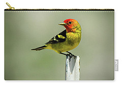 Western Tanager At The Ranch Carry-all Pouch