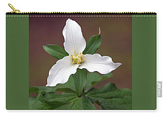 Western Trillium Carry-all Pouch