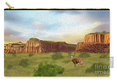 Western Whitetail Deer Carry-all Pouch