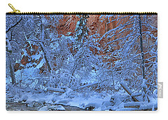 Westfork In Winter Carry-all Pouch