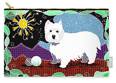 Westie Patchwork Carry-all Pouch