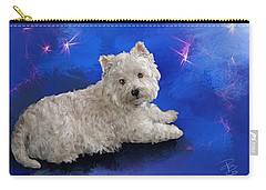 Westie Resting Carry-all Pouch