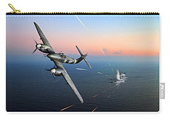Carry-all Pouch featuring the photograph Westland Whirlwind Attacking E-boats by Gary Eason