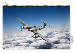 Carry-all Pouch featuring the photograph Westland Whirlwind Portrait by Gary Eason