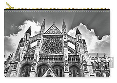 Westminster Abbey Under The Clouds And Rays Carry-all Pouch