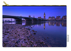 Carry-all Pouch featuring the photograph Westminster Bridge London by Mariusz Czajkowski