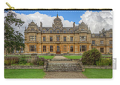Carry-all Pouch featuring the photograph Westonbirt School For Girls by Clare Bambers