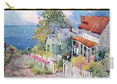 Westport By The Sea Carry-all Pouch by Joyce Hicks