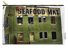Carry-all Pouch featuring the photograph Westport Washington Seafood Market by Sadie Reneau