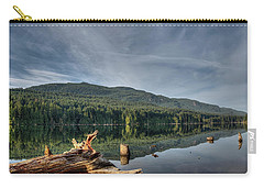 Carry-all Pouch featuring the photograph Westwood Lake by Randy Hall