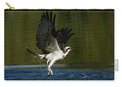 Wet And Wild 3 Carry-all Pouch by Fraida Gutovich