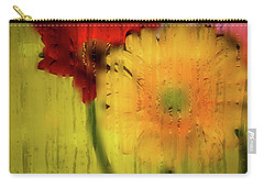 Wet Glass Flowers Carry-all Pouch