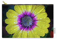Carry-all Pouch featuring the photograph Wet Wet Wet by Keith Hawley