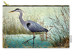 Carry-all Pouch featuring the painting Wetland Beauty by James Williamson