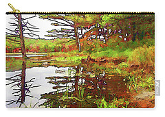Wetland Transition Carry-all Pouch by Betsy Zimmerli