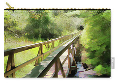 Wetland Walk Carry-all Pouch by Betsy Zimmerli
