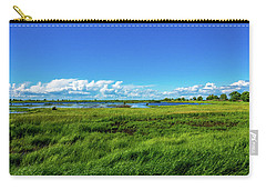 Wetlands On A Windy Spring Day Carry-all Pouch