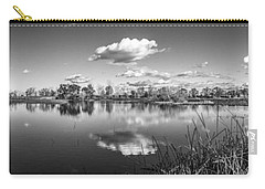 Wetlands Panorama Monochrome Carry-all Pouch