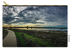Wetlands Sunset Panorama Carry-all Pouch