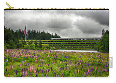 Carry-all Pouch featuring the photograph Weyerhaeuser Headquarters by Dan McManus