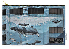 Whale Deco Building  Carry-all Pouch