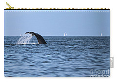 Whale Fluking Carry-all Pouch by Suzanne Luft