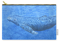 Whale In Surface Light Carry-all Pouch