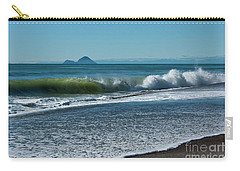 Carry-all Pouch featuring the photograph Whale Island by Werner Padarin