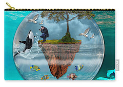 Whale Story Carry-all Pouch