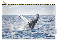 Whale Tail Carry-all Pouch by Happy Home Artistry