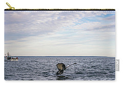 Whale Watching In Canada Carry-all Pouch by Trace Kittrell
