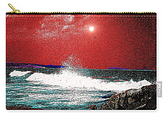 Whaleback At Peaks Island Maine Carry-all Pouch