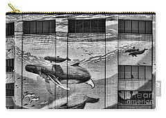 Whales Mural Building Penn Carry-all Pouch