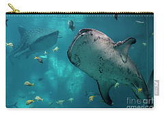 Whale-sharks Carry-all Pouch by Barbara Bowen