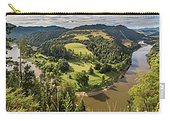 Carry-all Pouch featuring the photograph Whanganui River Bend by Gary Eason