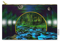Whare Peaceful Waters Flow Carry-all Pouch