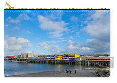 Wharf And Beach Carry-all Pouch