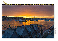 Wharf Sunset Carry-all Pouch