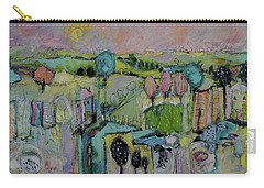 What A Bird Sees Carry-all Pouch by Sharon Furner
