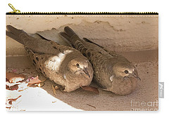 Carry-all Pouch featuring the photograph What A Pair by Anne Rodkin