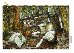 Carry-all Pouch featuring the photograph What A Ride by Claire Bull