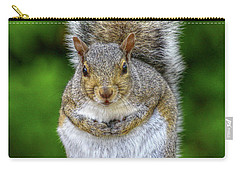 Carry-all Pouch featuring the digital art What Are You Looking At by Randy Steele