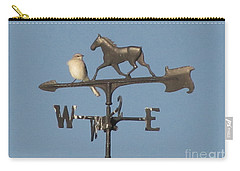 What Did You Say Carry-all Pouch by Donna Brown