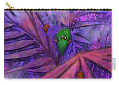 Fuzzy Little Monsters Carry-all Pouch